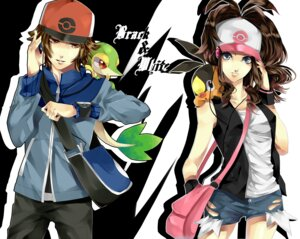 Rating: Safe Score: 22 Tags: pokemon snivy tepig touko_(pokemon) touya_(pokemon) tsukioka_tsukiho User: Radioactive