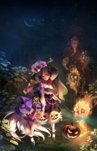 Rating: Safe Score: 22 Tags: cleavage gothic_lolita halloween lolita_fashion majo tail User: Mr_GT