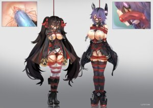 Rating: Explicit Score: 39 Tags: bondage breasts crossover dildo eyepatch girls_frontline heels kantai_collection lumpychan nipples no_bra pantsu pussy pussy_juice qbz-97 tenryuu_(kancolle) thighhighs torn_clothes uncensored vibrator User: Mr_GT
