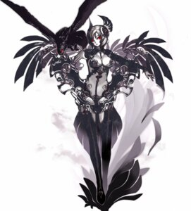 Rating: Safe Score: 46 Tags: armor cleavage tsunekun wings User: Radioactive