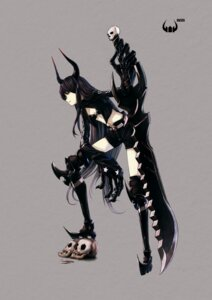 Rating: Safe Score: 27 Tags: black_gold_saw black_rock_shooter horns thighhighs vocaloid User: Radioactive