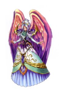 Rating: Safe Score: 4 Tags: angel breath_of_fire breath_of_fire_ii dress nina_(breath_of_fire_ii) wings yoshikawa_tatsuya User: Radioactive
