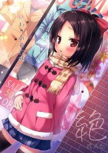 Rating: Safe Score: 56 Tags: seifuku thighhighs yukino_minato User: Twinsenzw