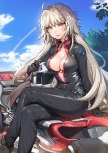 Rating: Questionable Score: 32 Tags: bikini_top bodysuit fate/grand_order jeanne_d'arc jeanne_d'arc_(alter)_(fate) open_shirt piyo_(pixiv_2308057) User: Mr_GT