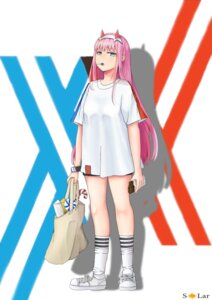 Rating: Safe Score: 10 Tags: darling_in_the_franxx horns tagme zero_two_(darling_in_the_franxx) User: happymonk7