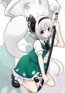 Rating: Safe Score: 23 Tags: konpaku_youmu sudachi sword touhou User: Mr_GT
