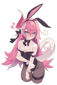 Rating: Questionable Score: 23 Tags: animal_ears benghuai_xueyuan breasts bunny_ears bunny_girl garter honkai_impact horns litsvn no_bra pantyhose rozaliya_olenyeva tail wardrobe_malfunction User: Dreista
