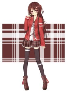 Rating: Safe Score: 50 Tags: megane niboss thighhighs User: Platinum