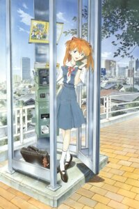 Rating: Safe Score: 21 Tags: neon_genesis_evangelion sadamoto_yoshiyuki screening souryuu_asuka_langley User: charunetra