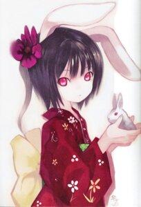 Rating: Safe Score: 39 Tags: animal_ears bunny_ears inaba_tewi kimono kiran touhou User: charunetra