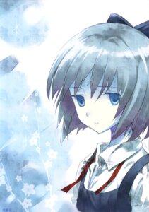 Rating: Safe Score: 4 Tags: cirno kamikire_basami touhou yasuyuki User: androgyne