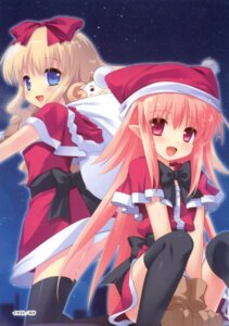 Rating: Safe Score: 31 Tags: christmas mike_(unisonshift) nanatsuiro_drops pantsu thighhighs yuki-chan User: crim