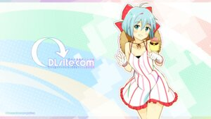 Rating: Safe Score: 25 Tags: dlsite.com dress wallpaper zpolice User: Ricetaffy