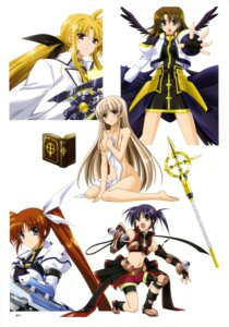 Rating: Questionable Score: 14 Tags: fate_testarossa higa_yukari isis_eaglet lily_strosek mahou_senki_lyrical_nanoha_force mahou_shoujo_lyrical_nanoha naked takamachi_nanoha yagami_hayate User: CryFleuret