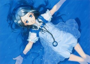 Rating: Safe Score: 34 Tags: dress shiina_yuu wet_clothes User: petopeto
