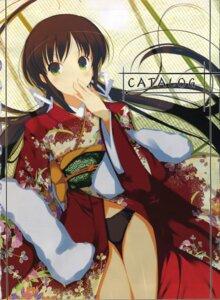 Rating: Safe Score: 19 Tags: bleed_through kimono pantsu screening yaegashi_nan User: admin2