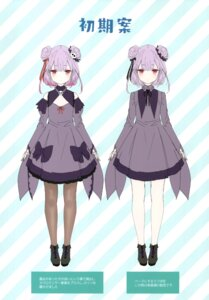 Rating: Safe Score: 12 Tags: character_design hololive kamikire_basami uruha_rushia yasuyuki User: Arsy