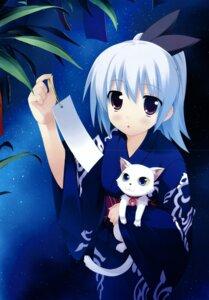 Rating: Safe Score: 17 Tags: crease eufonie hidamari_basket kiba_satoshi koizumi_mayu yukata User: midzki
