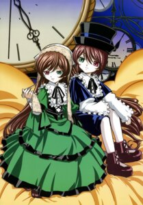 Rating: Safe Score: 11 Tags: heterochromia lolita_fashion rozen_maiden souseiseki suiseiseki User: Radioactive