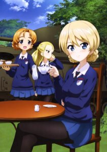Rating: Safe Score: 18 Tags: assam darjeeling girls_und_panzer orange_pekoe pantyhose seifuku sweater User: drop