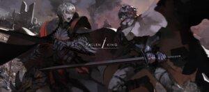 Rating: Safe Score: 11 Tags: blueman pixiv_fantasia pixiv_fantasia_fallen_kings sword User: Noodoll