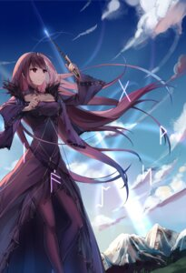 Rating: Safe Score: 30 Tags: cleavage dress fate/grand_order pantyhose scathach_skadi weapon yorktown_cv-5 User: Mr_GT
