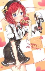 Rating: Safe Score: 73 Tags: chibi heels love_live! nishikino_maki valentine yazawa_nico yuran User: fairyren