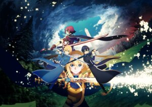 Rating: Safe Score: 41 Tags: alice_schuberg armor deletethistag eugeo kirito possible_duplicate sword sword_art_online sword_art_online_alicization tagme User: Saturn_V