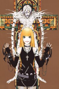 Rating: Safe Score: 8 Tags: amane_misa death_note obata_takeshi rem User: Radioactive