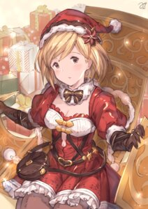 Rating: Safe Score: 25 Tags: christmas cleavage djeeta_(granblue_fantasy) dress granblue_fantasy milli_little pantyhose User: Mr_GT