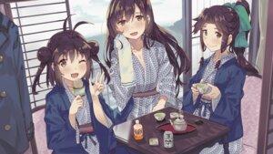 Rating: Safe Score: 26 Tags: cleavage jintsuu_(kancolle) kantai_collection naka_(kancolle) sendai_(kancolle) tonari_no_kai_keruberosu yukata User: Mr_GT