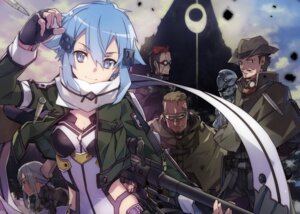 Rating: Safe Score: 62 Tags: abec cleavage gun gun_gale_online open_shirt sinon sword_art_online User: Korino