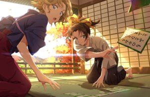 Rating: Safe Score: 17 Tags: detective_conan japanese_clothes oooka_momiji tooyama_kazuha zattape User: mash