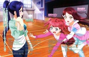 Rating: Safe Score: 24 Tags: gym_uniform kurosawa_ruby love_live!_sunshine!! matsuura_kanan sakurauchi_riko tamura_satomi thighhighs User: drop