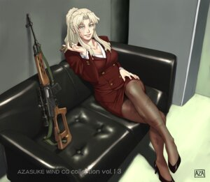 Rating: Safe Score: 23 Tags: azasuke azasuke_wind balalaika black_lagoon heels pantyhose User: Radioactive