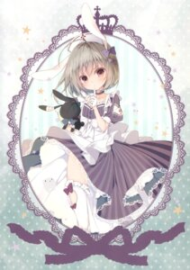 Rating: Questionable Score: 26 Tags: inugami_kira loli necotoxin thighhighs User: Radioactive