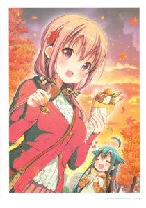 Rating: Safe Score: 26 Tags: hinako_note mitsuki_(mangaka) sweater User: fireattack