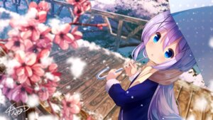 Rating: Safe Score: 39 Tags: chinomaron gochuumon_wa_usagi_desu_ka? kafuu_chino signed umbrella User: Mr_GT