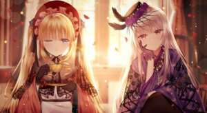 Rating: Safe Score: 60 Tags: ecu8080 rozen_maiden see_through shinku suigintou User: BattlequeenYume
