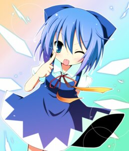 Rating: Safe Score: 15 Tags: chibi cirno hinata_ichi touhou User: Radioactive