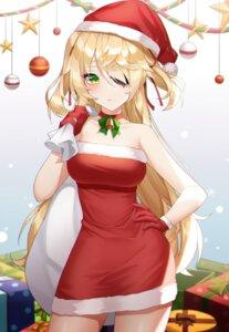 Rating: Safe Score: 48 Tags: christmas dress eyepatch fischl_(genshin_impact) genshin_impact meoyo User: BattlequeenYume