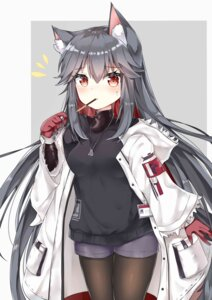 Rating: Safe Score: 36 Tags: animal_ears arknights ju_(a793391187) pantyhose texas_(arknights) User: Mr_GT