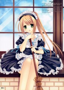 Rating: Safe Score: 40 Tags: maid tatekawa_mako wnb User: midzki