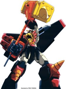 Rating: Safe Score: 3 Tags: mecha yoshida_toru yuusha_ou_gaogaigar User: Radioactive