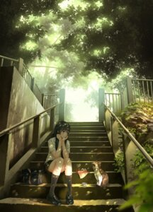 Rating: Safe Score: 72 Tags: landscape neko seifuku sho_(shoichi-kokubun) User: Mr_GT