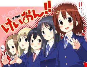 Rating: Safe Score: 4 Tags: akiyama_mio hirasawa_yui k-on! kotobuki_tsumugi masamuu nakano_azusa tainaka_ritsu User: Riven