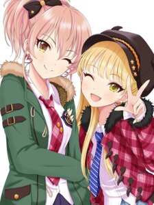 Rating: Safe Score: 40 Tags: jougasaki_mika jougasaki_rika the_idolm@ster the_idolm@ster_cinderella_girls yuki_(yukillust) User: animeprincess