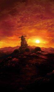 Rating: Safe Score: 26 Tags: battleship_yamato landscape mecha uchuu_senkan_yamato uchuu_senkan_yamato_2199 User: HMX-999
