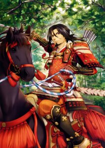 Rating: Safe Score: 12 Tags: armor fujima_takuya male samurai sword weapon User: donicila