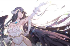 Rating: Safe Score: 61 Tags: albedo_(overlord) calder cleavage horns overlord wings User: Mr_GT